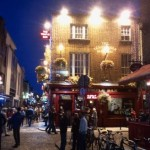 Temple bar de nuit
