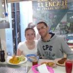 Repas au Mercado Central