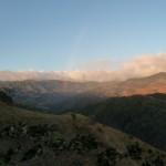 Arc en ciel sur la route de Monterverde