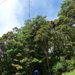 Saut de Tarzan de 40m
