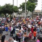 Lima - Danseurs dans un jardin public de Miraflores