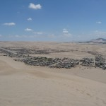Huacachina - Village au loin
