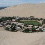 Huacachina - Oasis vue d'en haut de la grande dune
