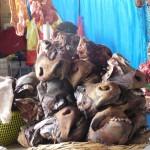 Cuzco - museaux de taureaux