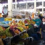 Cuzco - fruits du marché