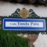 Cuzco - nom de rue