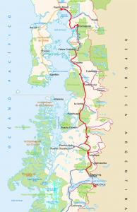 Itinéraire carretera austral 365 aventures