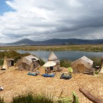 Titicaca - ile flottante d'Uros