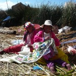Titicaca - broderie