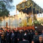 Arequipa - procession de la Semaine Sainte