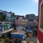 Valparaiso - Maisons colorées