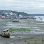 Quemchi - Port à marée basse