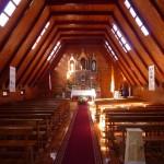 Curaco - Intérieur de l'église
