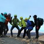 El Chalten - arrivés au sommet