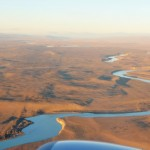 El Calafate - Vue depuis l'avion