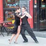 Buenos Aires - Danseur de tango à Caminito