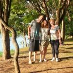 Campinas - Parc avec Monica