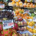 Saõ Paolo - Fruits au marché