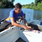 Pantanal - Préparation de la pêche
