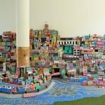 Rio - Favelas en briques
