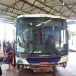 Notre bus à l'arrivée