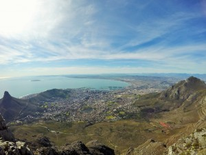 Capetown - Table montain.