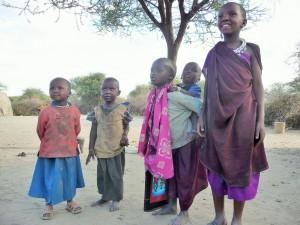 Enfants Maasaï