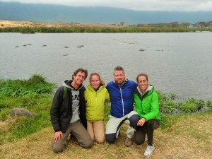 Ngorongoro - Elena et Paolo