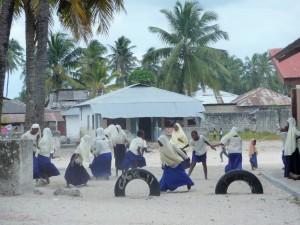 Zanzibar - Ecolières