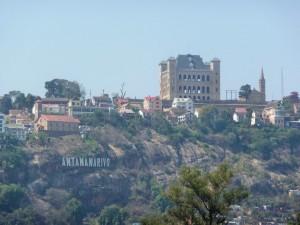 Antananarivo - Palais de la reine