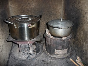 Cuisinière locale