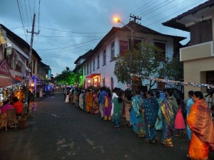 Fort Cochin - Procession