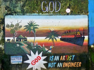 Fort Cochin - Street art