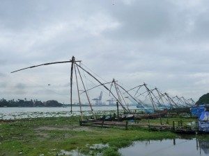 Fort Cochin - Carrelets chinois