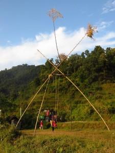 Pokhara - Balançoire