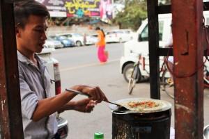 Rangoun - Crêpe locale