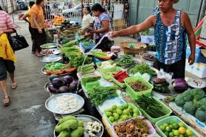 Rangoun - Marché