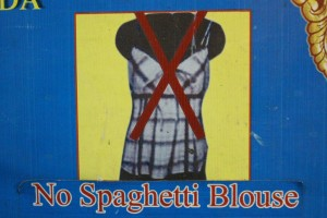 Rangoun - No Spaghetti Blouse