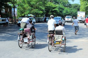 Rangoun - Cyclopousses