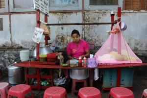 Rangoun - Cantine de rue