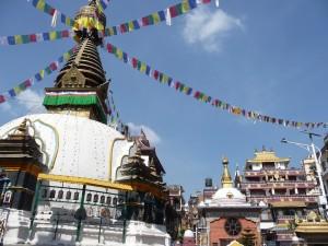 Katmandou - Stupa