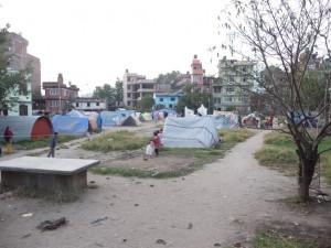 Katmandou - Après le tremblement de terre