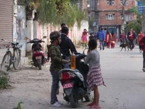 Katmandou - Pénurie d'essence