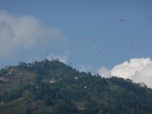 Pokhara - Parapente