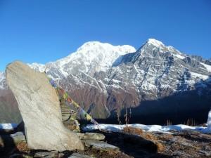 Trek Mardi Himal - Au sommet