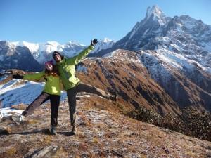 Trek Mardi Himal - On est contents
