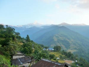 Trek Mardi Himal - Ghalel