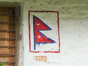 Trek Mardi Himal - Drapeau Népal