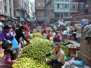 Katmandou - Oranges