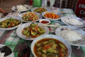Bagan - Repas végétarien